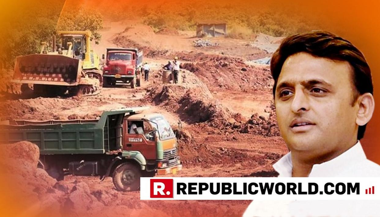 ED FILES MONEY LAUNDERING CASE AGAINST AKHILESH YADAV IN MINING SCAM