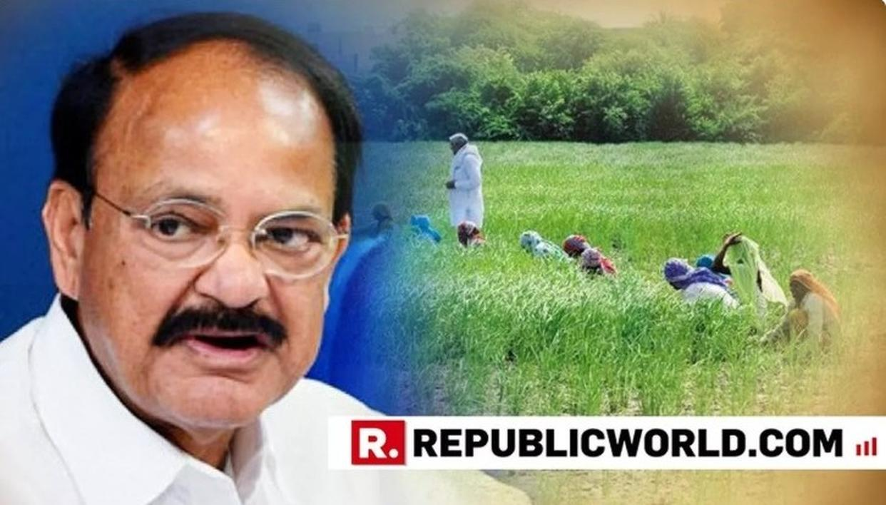 FARM LOAN WAIVER ONLY A TEMPORARY STEP, SAYS VICE PRESIDENT