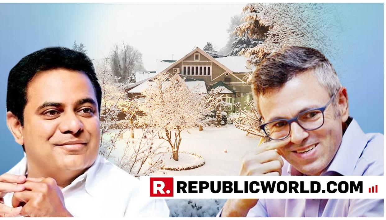 KTR GUSHES ABOUT OMAR ABDULLAH'S WINTER WONDERLAND HOUSE, RECEIVES SURPRISE EXPRESS INVITE IN RETURN