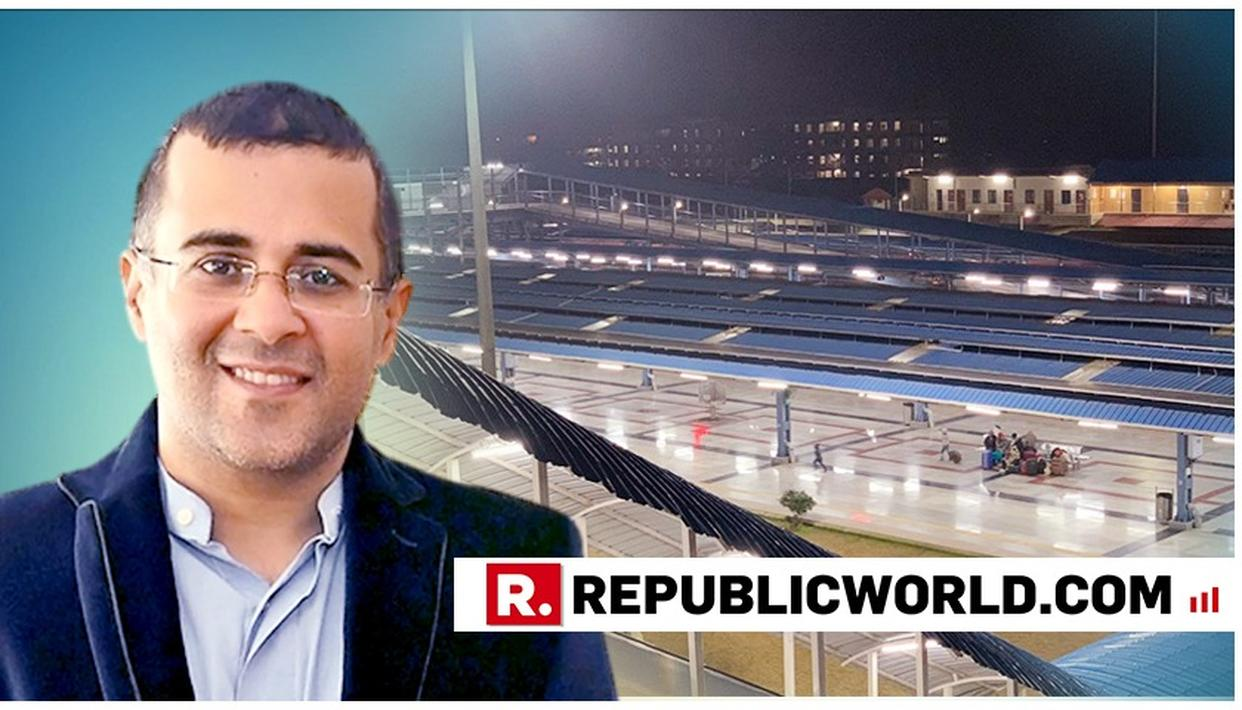 CHETAN BHAGAT BAMBOOZLED BY CLEANLINESS OF THIS RAILWAY STATION. READ HERE