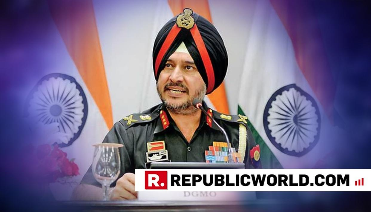 2018 IS SECURITY FORCES' BEST YEAR IN COUNTER-TERRORISM OPERATIONS FOR A DECADE, SAYS NORTHERN COMMANDER LT GEN RANBIR SINGH