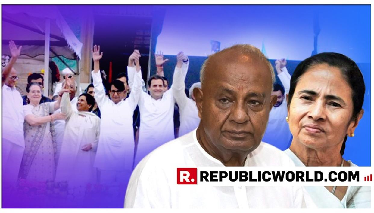 """""""REMOVE MODI-GOVERNMENT WILL BE OUR SLOGAN,"""" SAYS FORMER PM DEVE GOWDA AFTER REACHING KOLKATA FOR MAMATA BANERJEE'S RALLY"""