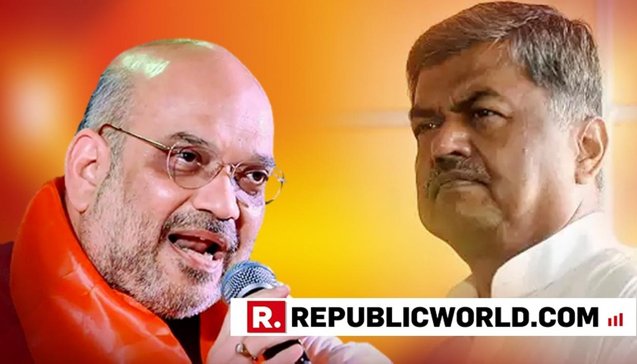 AFTER 'SUAR KA ZUKHAM' INSULT, CONGRESS MP ACCUSES AMIT SHAH OF LYING, SAYS 'WE KNOW PEOPLE IN AIIMS'