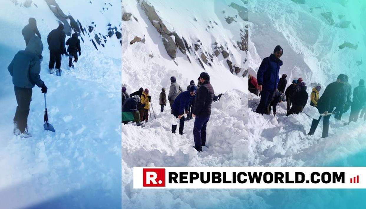 5 KILLED, 5 MISSING AS AVALANCHE HITS LADAKH'S KHARDUNG LA