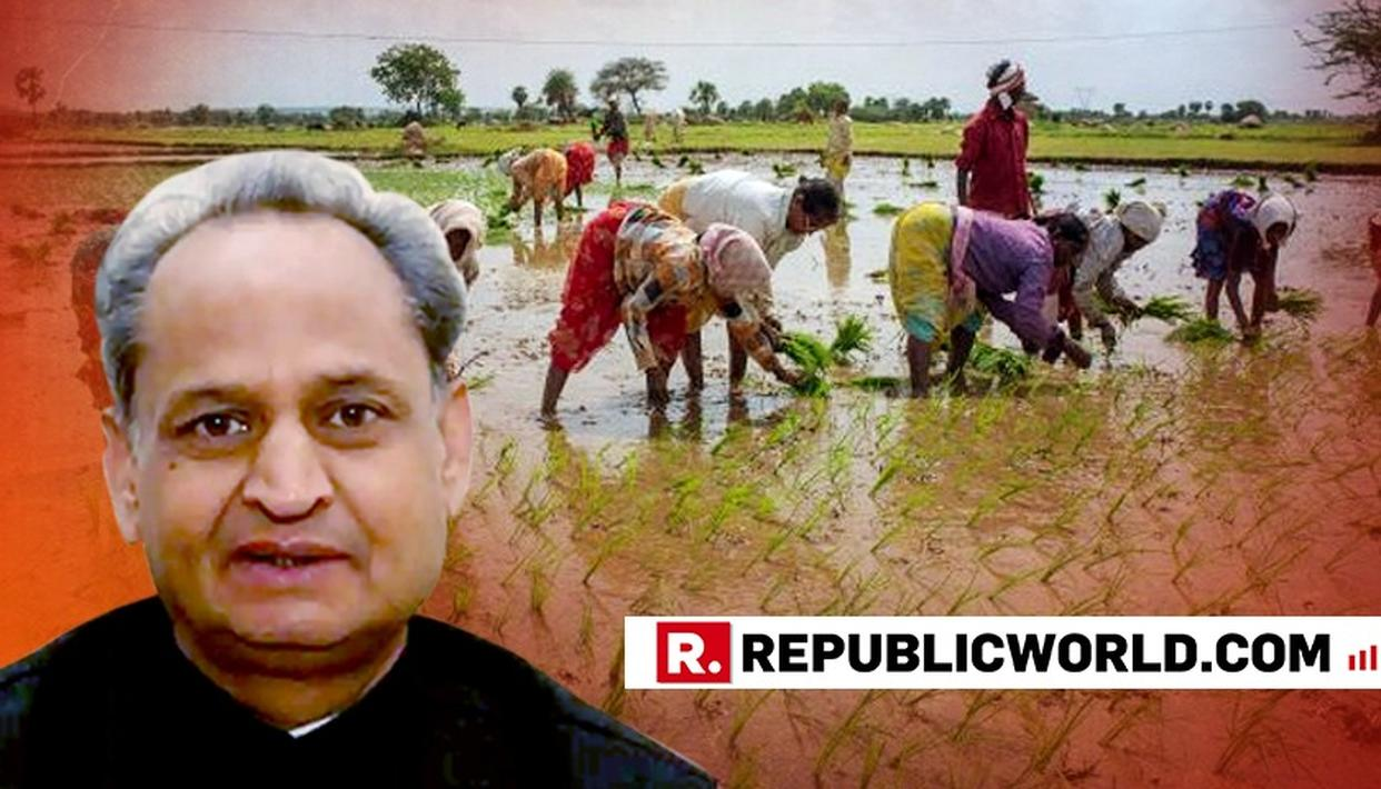 CENTRE SHOULD INTRODUCE LOAN WAIVER SCHEME FOR FARMERS ACROSS THE COUNTRY: GEHLOT