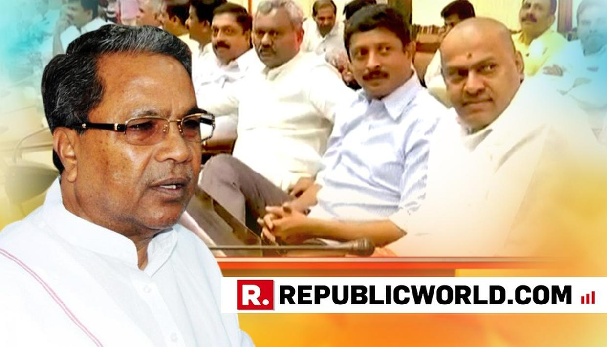 KARNATAKA COALITION CRISIS: FOUR CONGRESS MLAS SKIP CLP MEET, PARTY ISSUES NOTICES