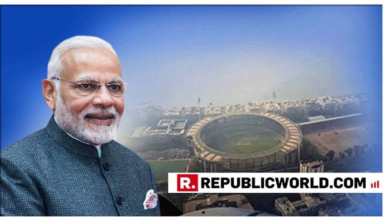IN PICTURES: 'SPOT WANKHEDE STADIUM', SAYS PM MODI AS HE FLIES OVER MUMBAI