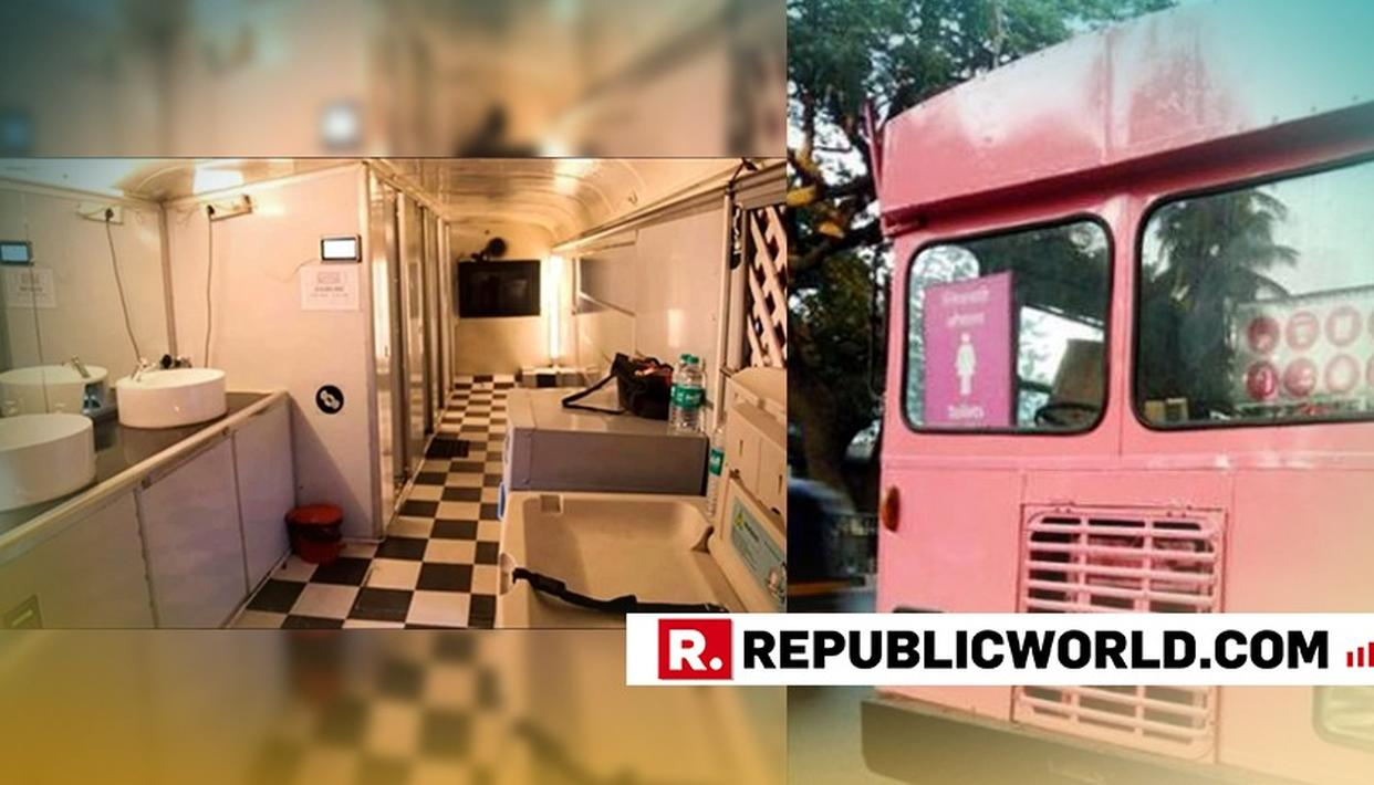 IN PHOTOS: CONVERTING SCRAPPED BUSES INTO WOMEN TOILETS, A COUPLE IN PUNE IS REVAMPING SANITATION IN THE CITY