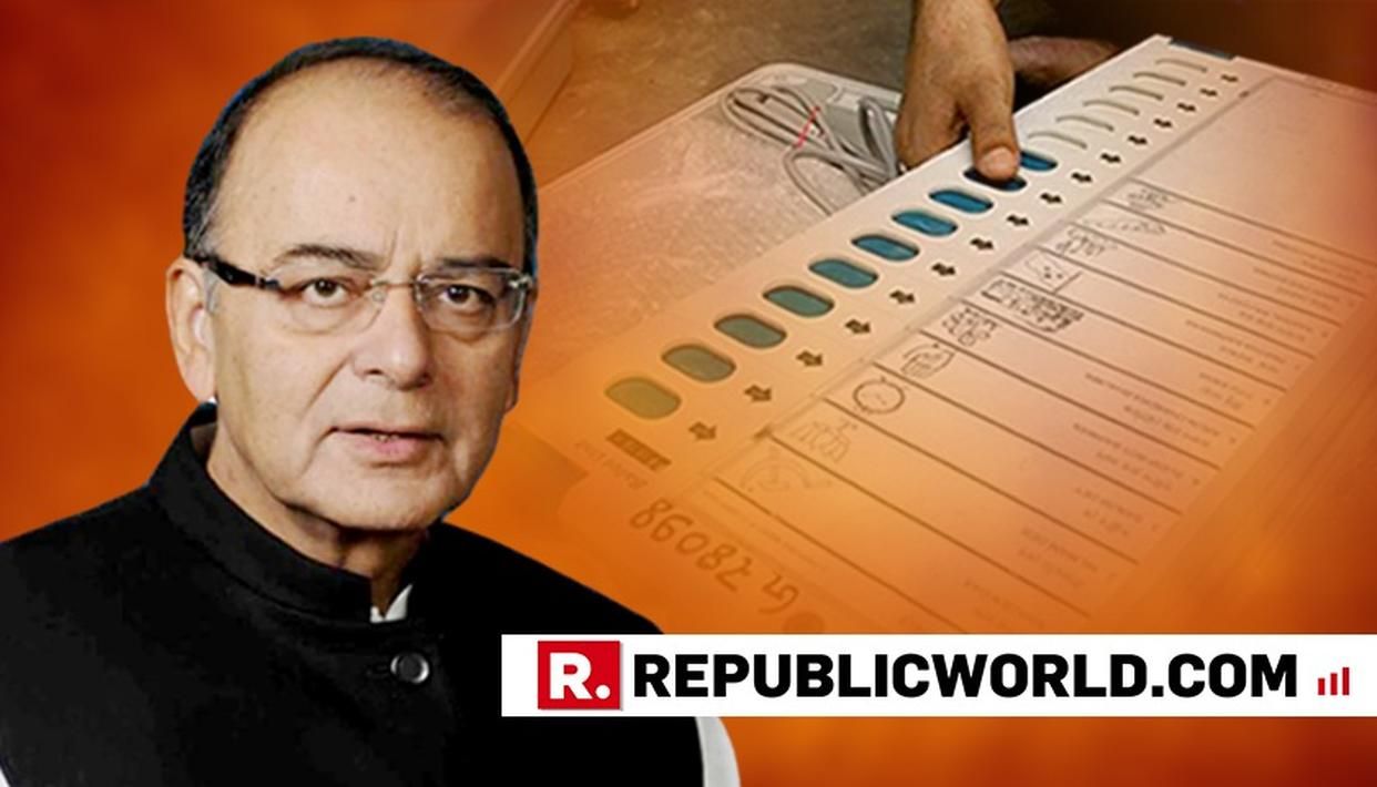 """INSANITY IN CONGRESS IS BECOMING CONTAGIOUS"": ARUN JAITLEY LAUNCHES ATTACK AFTER LONDON EVM HACKATHON"