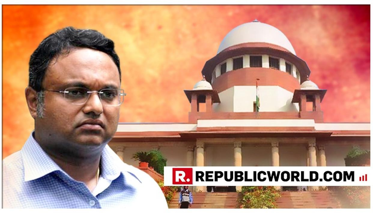 SC DEFERS TO JAN 28 HEARING ON KARTI'S PLEA TO TRAVEL ABROAD