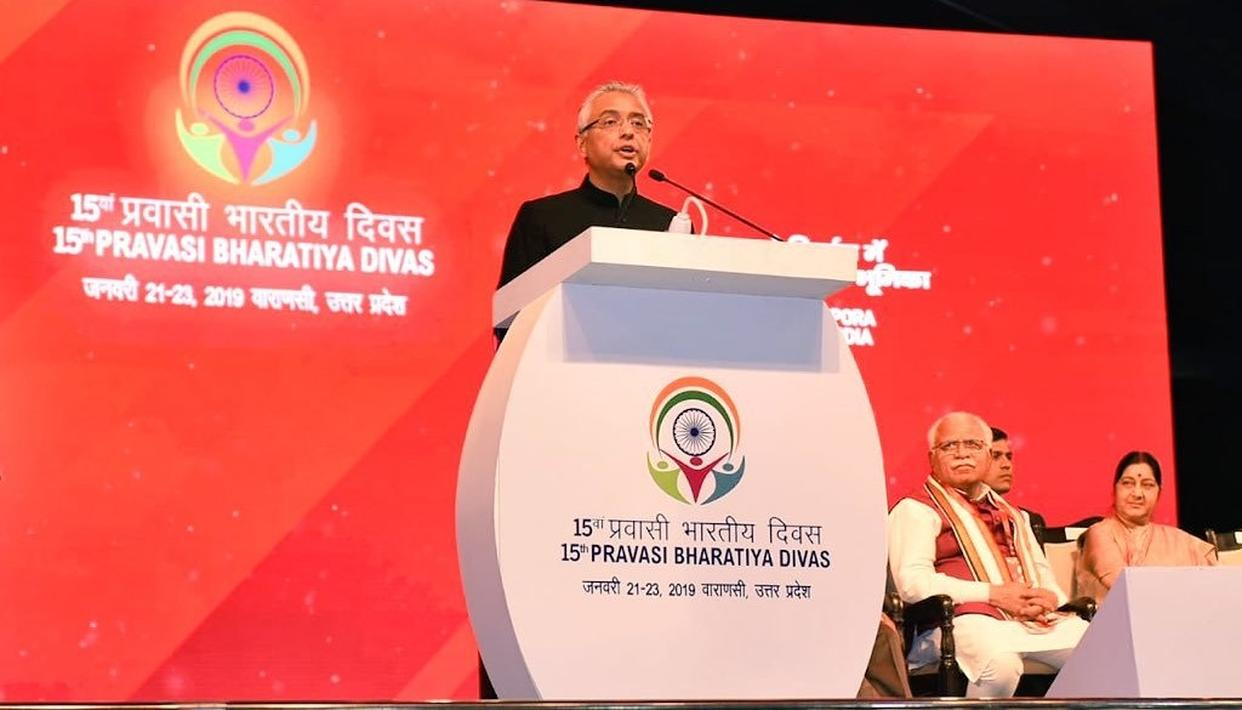 IF INDIA IS UNIQUE, INDIANNESS IS UNIVERSAL: MAURITIUS PM