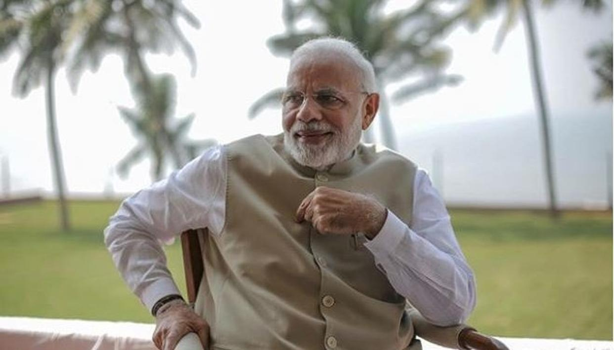 HERE'S A PIECE OF ADVICE FROM PM NARENDRA MODI TO THE YOUTH LIVING AMID THE FAST-PACED LIFE AND BUSY SCHEDULES