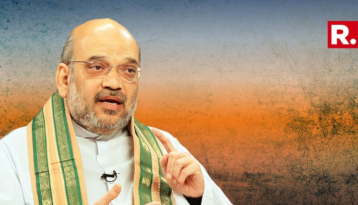 OPPOSITION MAHAGATHBANDHAN DRIVEN BY 'GREED FOR POWER', HAS 9 POTENTIAL PM CANDIDATES: AMIT SHAH