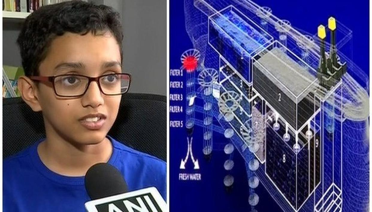 12-YEAR-OLD PUNE BOY DESIGNS SHIP TO CLEAN OCEANS, SAVE MARINE LIFE