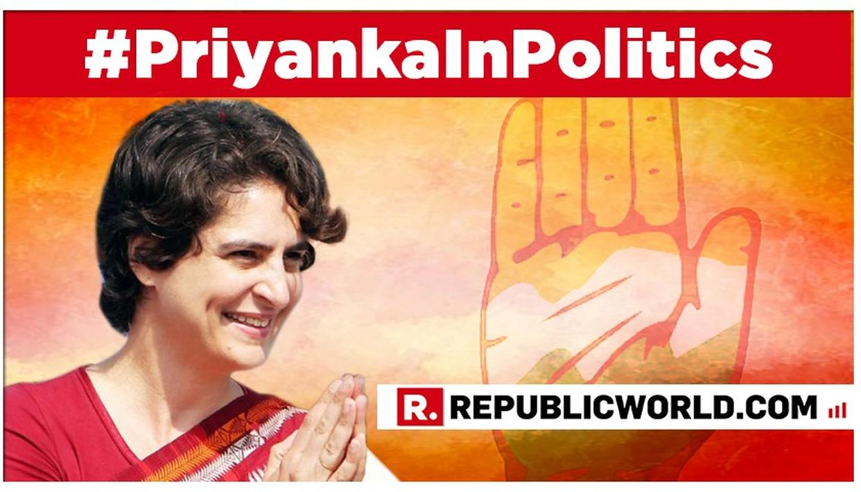 PRIYANKA GANDHI-VADRA HAS BEEN APPOINTED THE CONGRESS GENERAL SECRETARY FOR UTTAR PRADESH EAST. READ APPOINTMENT LETTER HERE