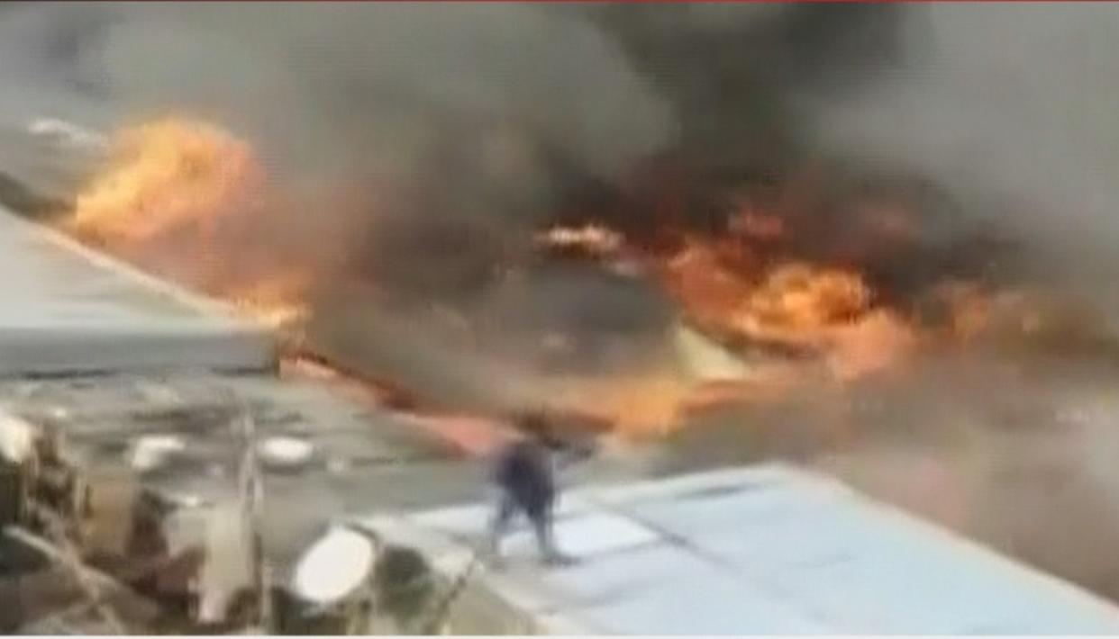 LIVE UPDATES: MASSIVE FIRE GUTS OVER 100 SHANTIES IN GURUGRAM SLUM