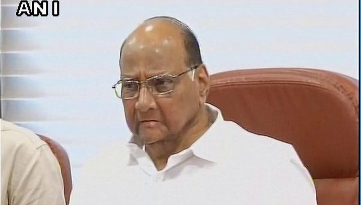 'PAWAR TIED UP WITH CONG AS IDEOLOGY MORE IMPORTANT FOR HIM'