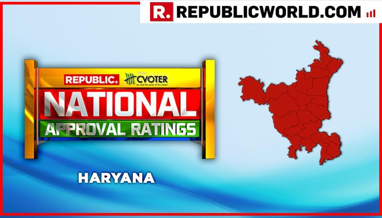 NATIONAL APPROVAL RATINGS: BJP IS PROJECTED TO LEAD WITH 4 SEATS IN A 10-SEAT HARYANA