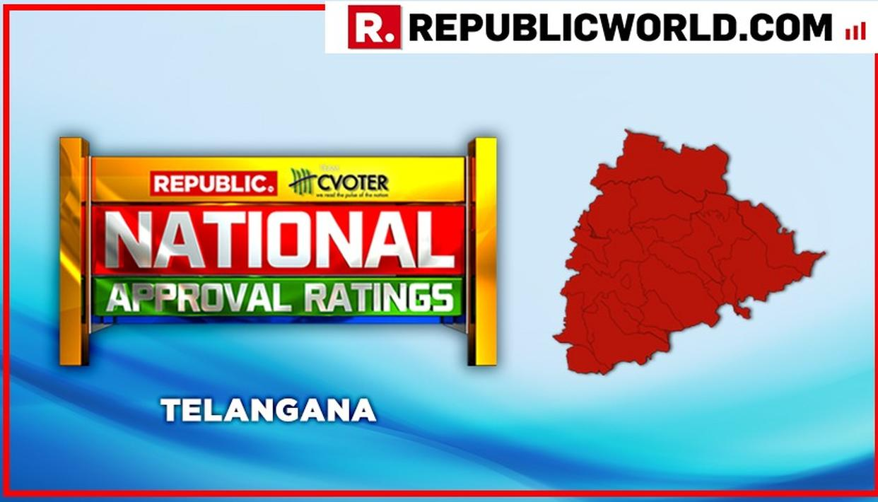 NATIONAL APPROVAL RATINGS: IN TELANGANA, KCR'S TRS IS PROJECTED TO EMERGE VICTORIOUS MASSIVELY WITH 16 SEATS, AND NONE FOR NDA OR UPA