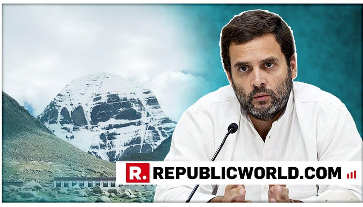 WATCH: RAHUL GANDHI ADMITS TO MEETING TWO CHINESE MINISTERS DURING KAILASH YATRA