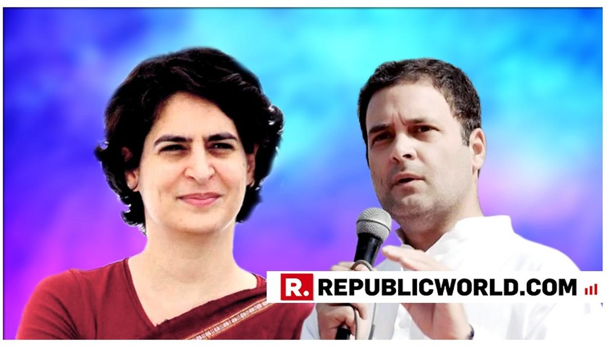 PRIYANKA'S ENTRY INTO POLITICS NOT SUDDEN: RAHUL GANDHI
