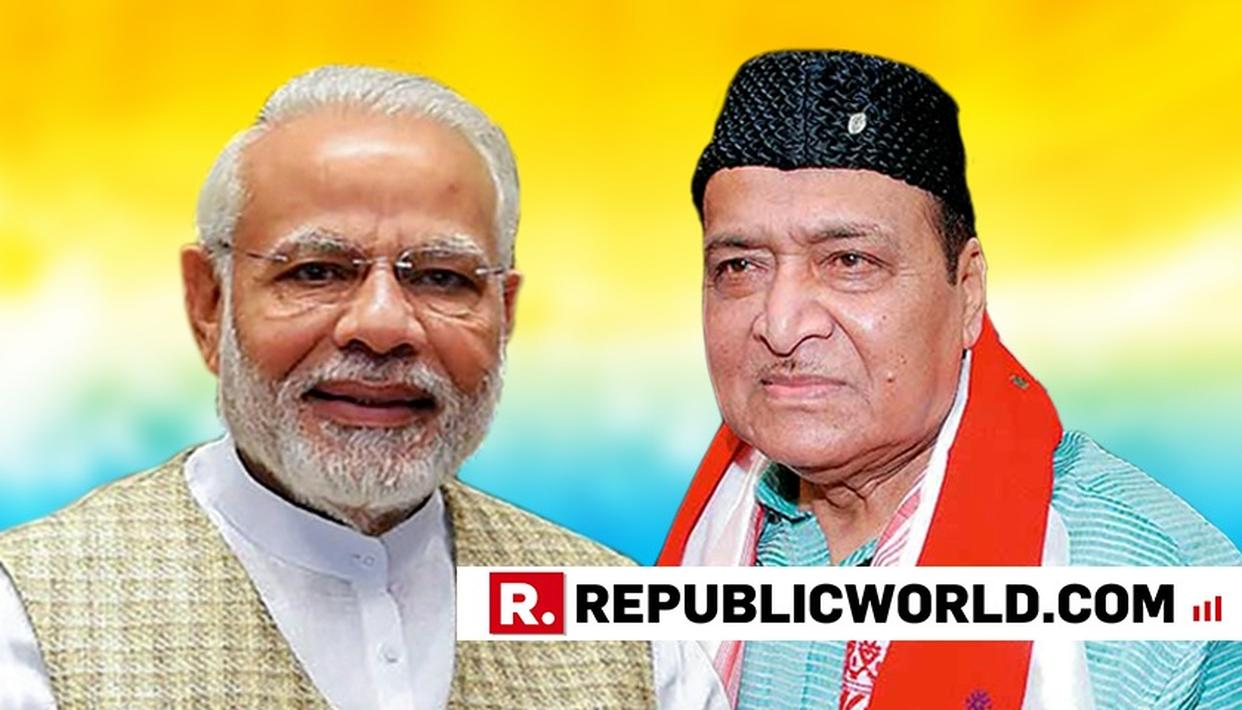 PM WAXES LYRICAL AS BHUPEN HAZARIKA IS CONFERRED WITH BHARAT RATNA