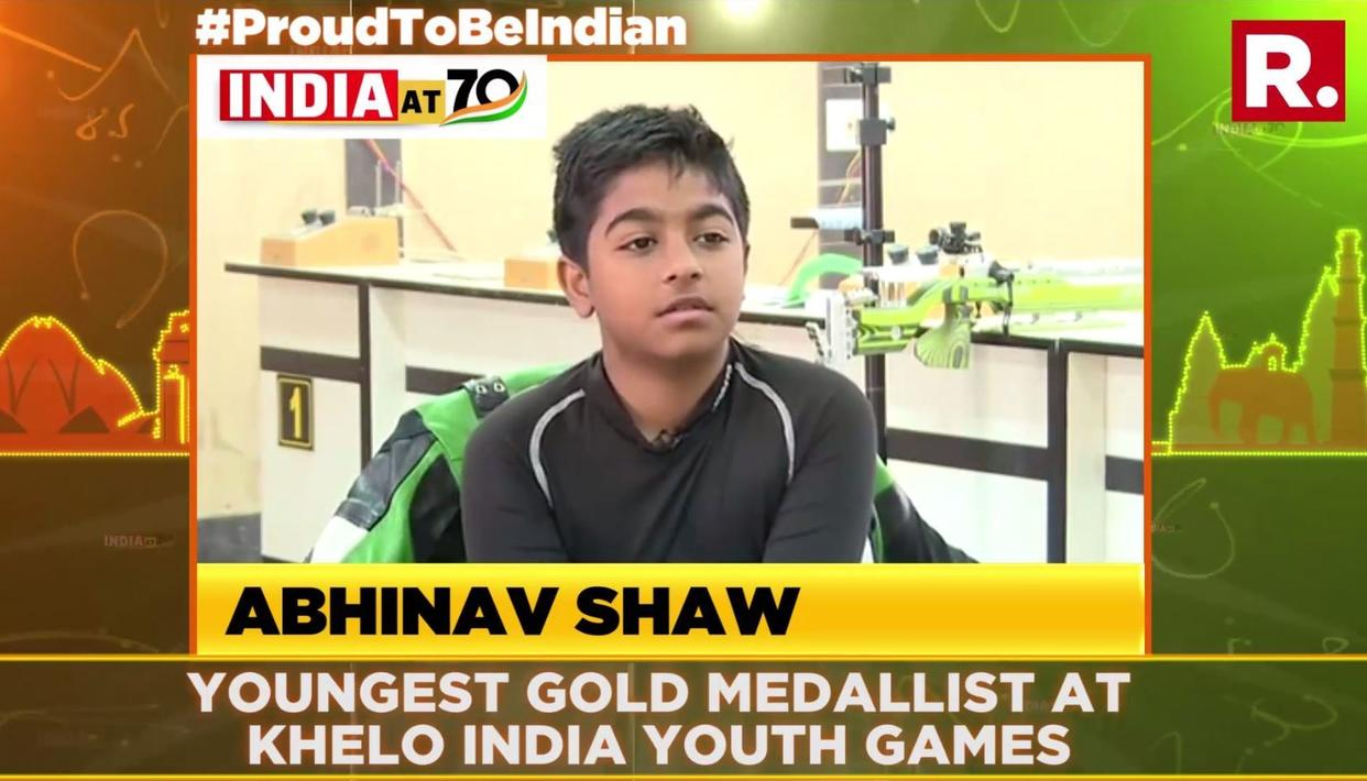 MEET ABHINAV SHAW, THE YOUNGEST GOLD MEDALIST AT THE KHELO YOUTH INDIA GAMES