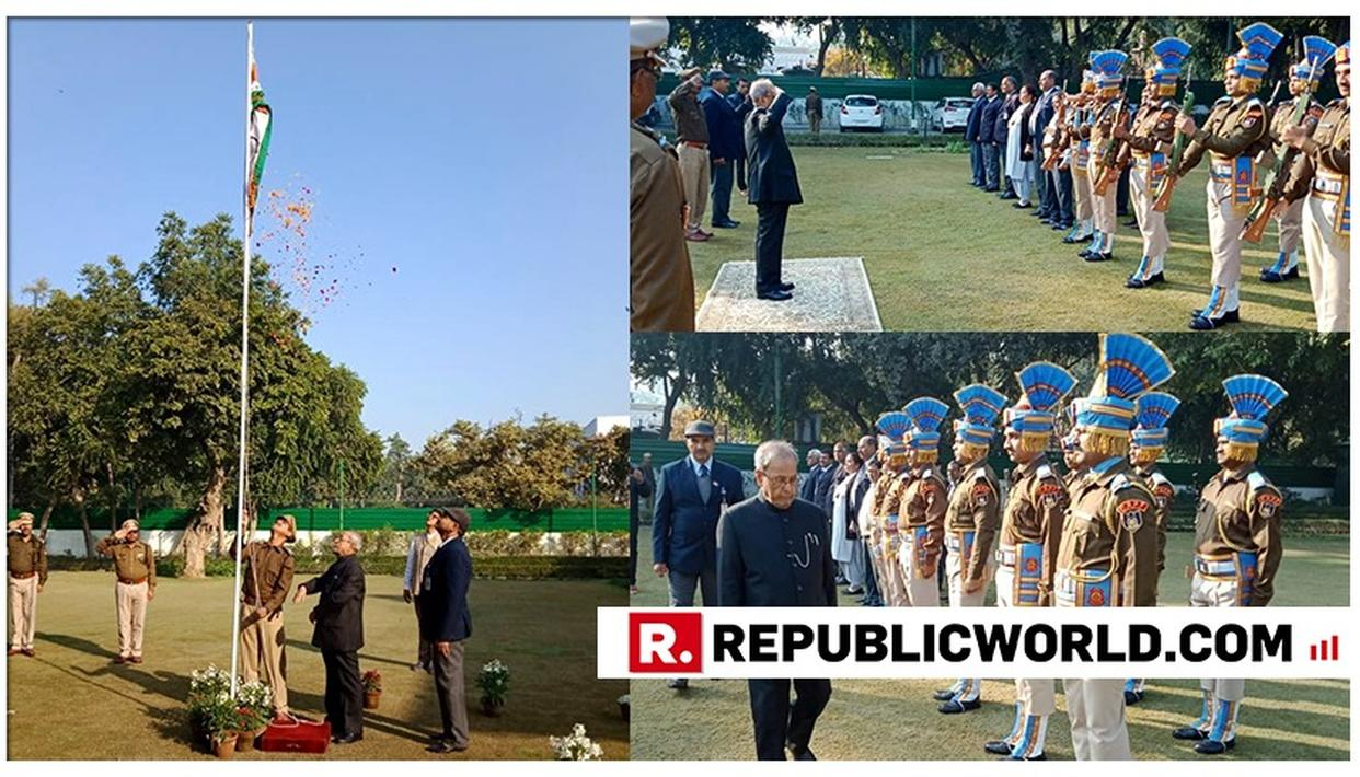 WE MUST STRIVE TO PROTECT AND PRESERVE FOUNDATIONAL ETHICS OF CONSTITUTION: PRANAB ON REPUBLIC DAY