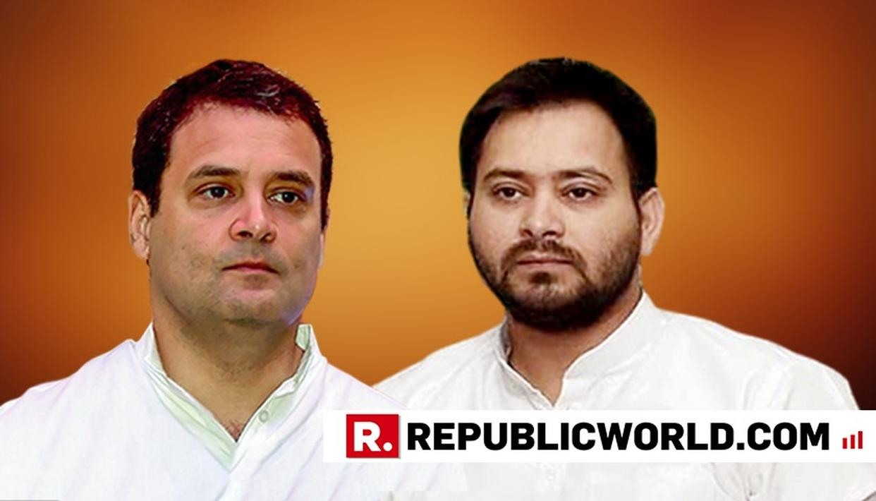 RAHUL HAS ALL QUALITIES TO MAKE A GOOD PM: TEJASHWI