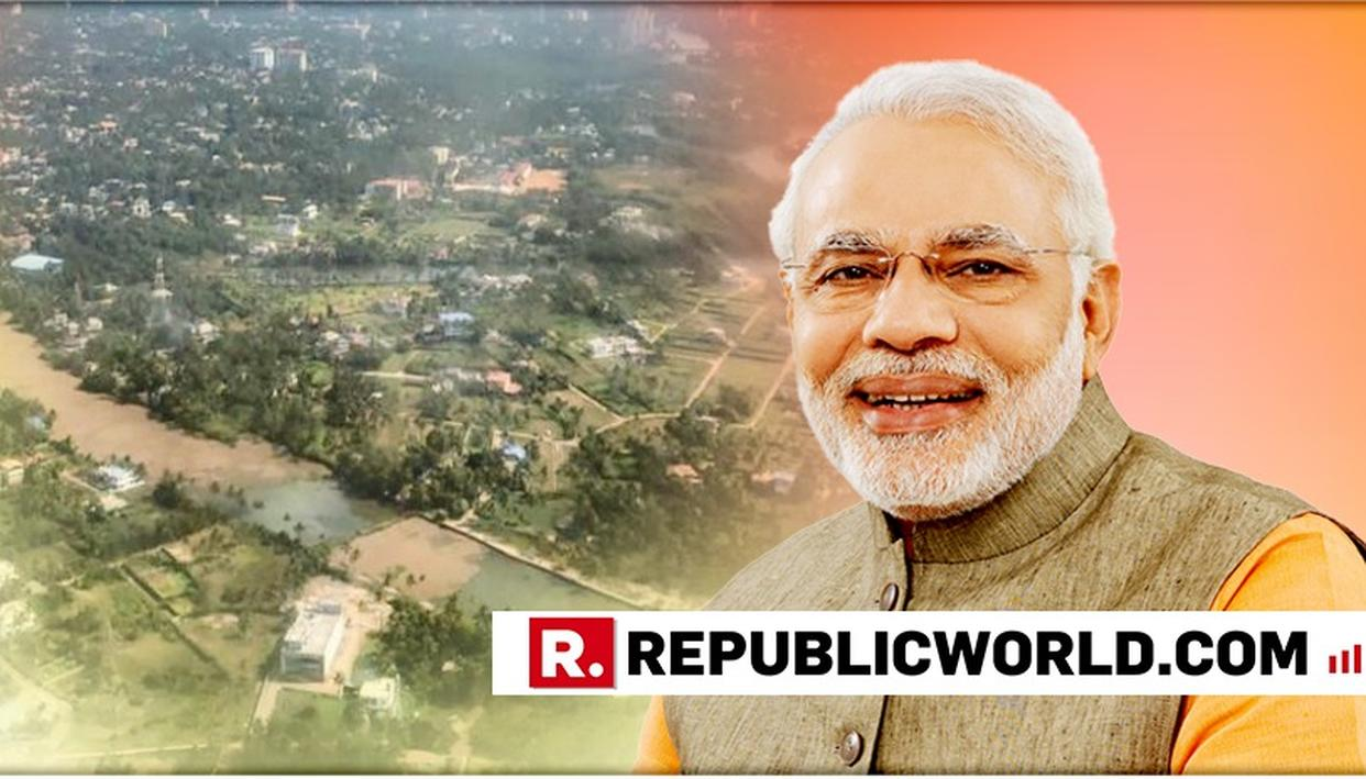 "IN PICS: ""HOME TO HARDWORKING PEOPLE,"" HAILS PM NARENDRA MODI'S CAPTURING STUNNING BIRD'S-EYE-VIEW OF KOCHI"