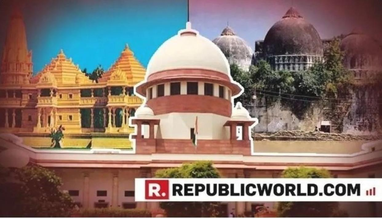 AYODHYA CASE DELAYED AGAIN: SUPREME COURT TO NOT HEAR MATTER ON JANUARY 29 DUE TO NON-AVAILABILITY OF JUSTICE BOBDE