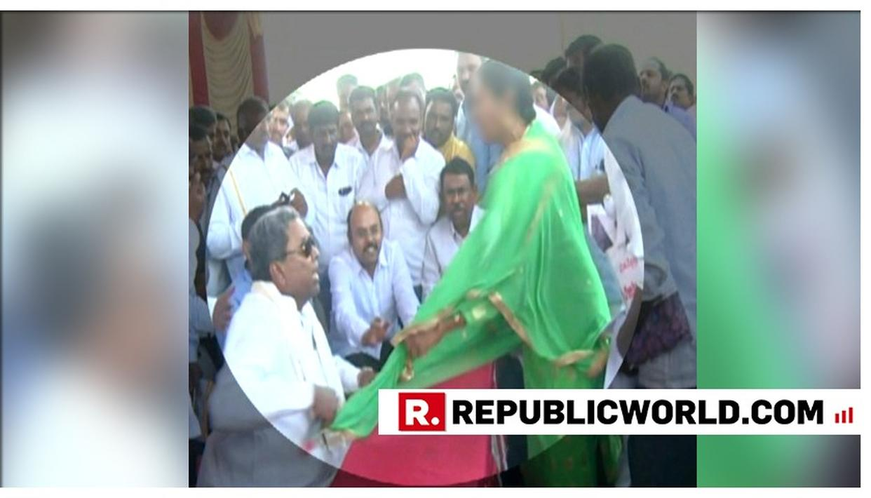 OUTRAGEOUS: FORMER KARNATAKA CM SIDDARAMAIAH HAS SHOCKING OUTBURST AT WOMAN SEEKING A HOSPITAL - INSULTS, SCREAMS AND SNATCHES MIC FROM HER