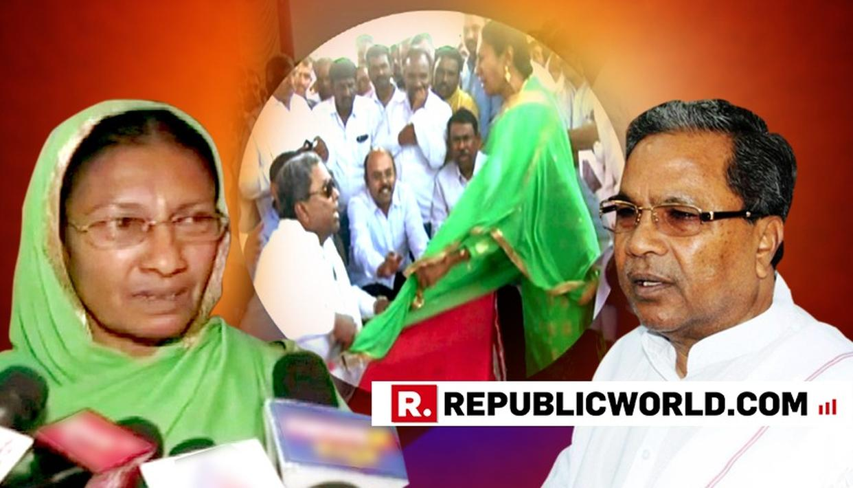 FAR FROM APOLOGISING, SIDDARAMAIAH BRAZENS OUT OUTRAGEOUS BEHAVIOUR WITH A WOMAN WHO DARED TO QUESTION HIM; TRIES TO PLAY 'SISTER' CARD