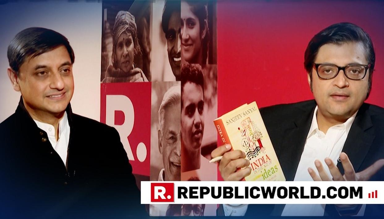 WATCH: SANJEEV SANYAL ON 'INDIA IN THE AGE OF IDEAS'