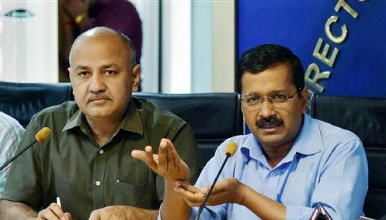 ARVIND KEJRIWAL LAYS FOUNDATION FOR CONSTRUCTION OF 11,000 CLASSROOMS IN DELHI