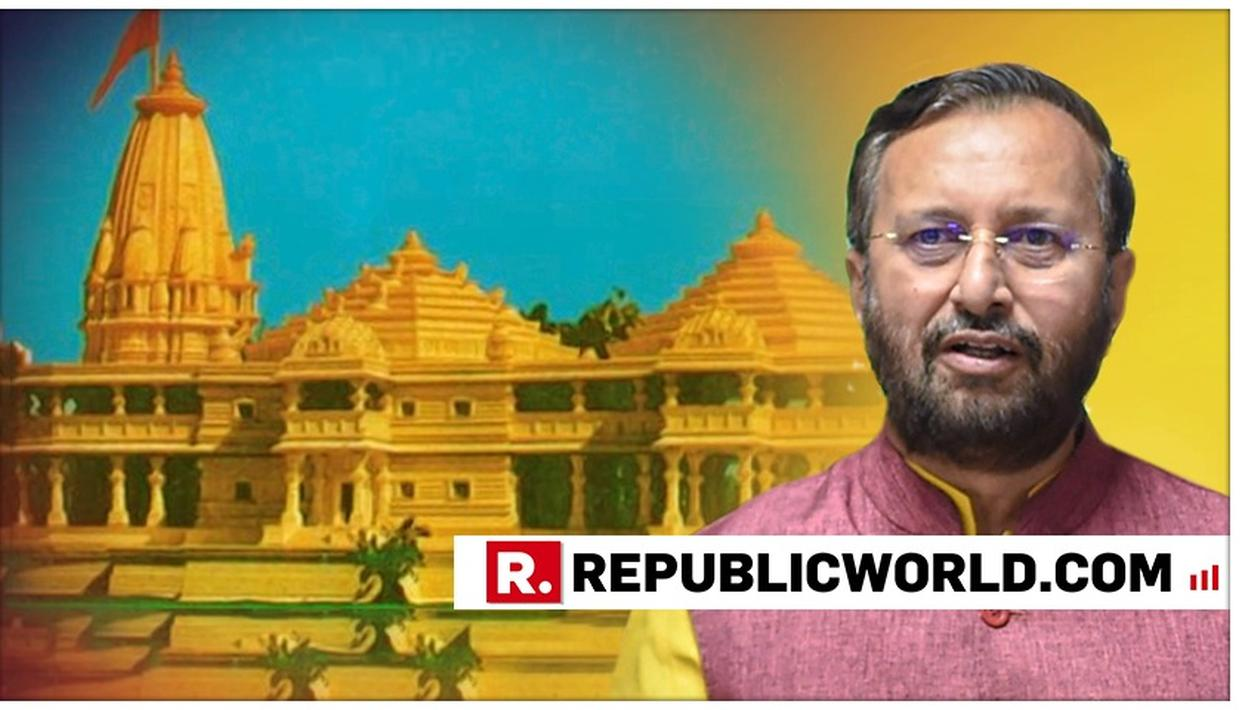 MASSIVE: GOVERNMENT FILED AYODHYA LAND RETURN PLEA IN SUPREME COURT TO FACILITATE 'MAGNIFICENT' RAM MANDIR, CONFIRMS PRAKASH JAVADEKAR