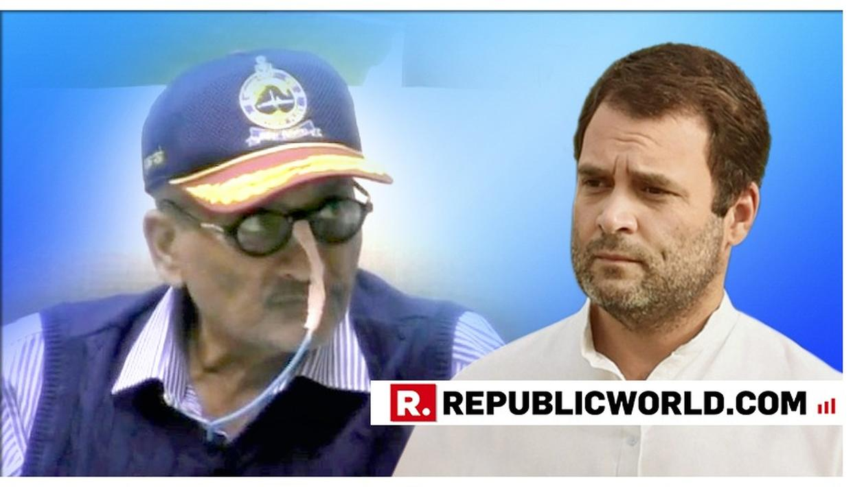 """READ THIS: """"KINDLY DON'T USE YOUR VISIT TO AN AILING PERSON TO FEED POLITICAL OPPORTUNISM"""", WRITES MANOHAR PARRIKAR TO RAHUL GANDHI LAYING BARE LOWLY POLITICISATION"""