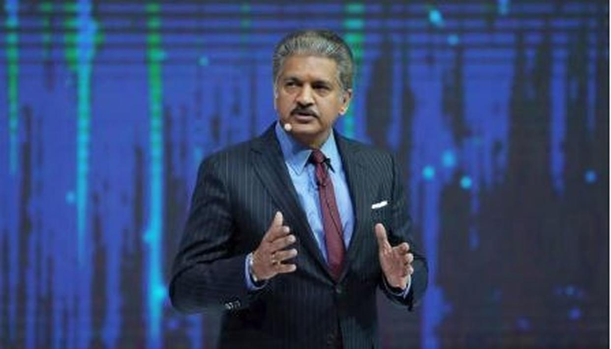 HUSBANDS ALL OVER ARE RELATING TO ANAND MAHINDRA'S LATEST TWEET ON 'DELICIOUS ROASTED HUSBAND', HERE'S HIS MESSAGE FOR HIS WIFE