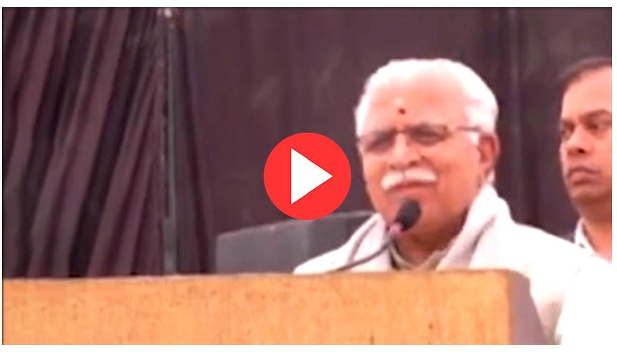 WATCH: HARYANA CM MANOHAR LAL KHATTAR AMAZES NETIZENS WITH HIS FLUENT SPEECH IN TAMIL