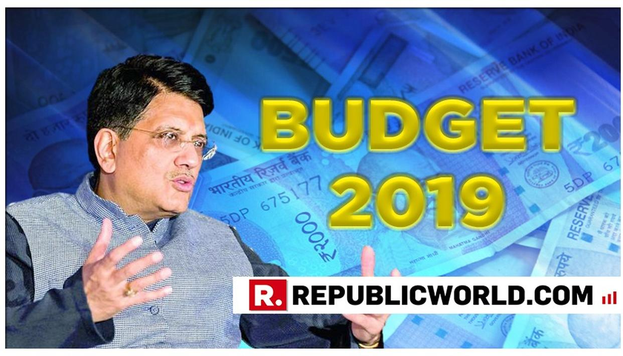 UNION BUDGET 2019: GOYAL TO PRESENT INTERIM BUDGET ON FEB 1; NO ECONOMIC SURVEY IN OFFING