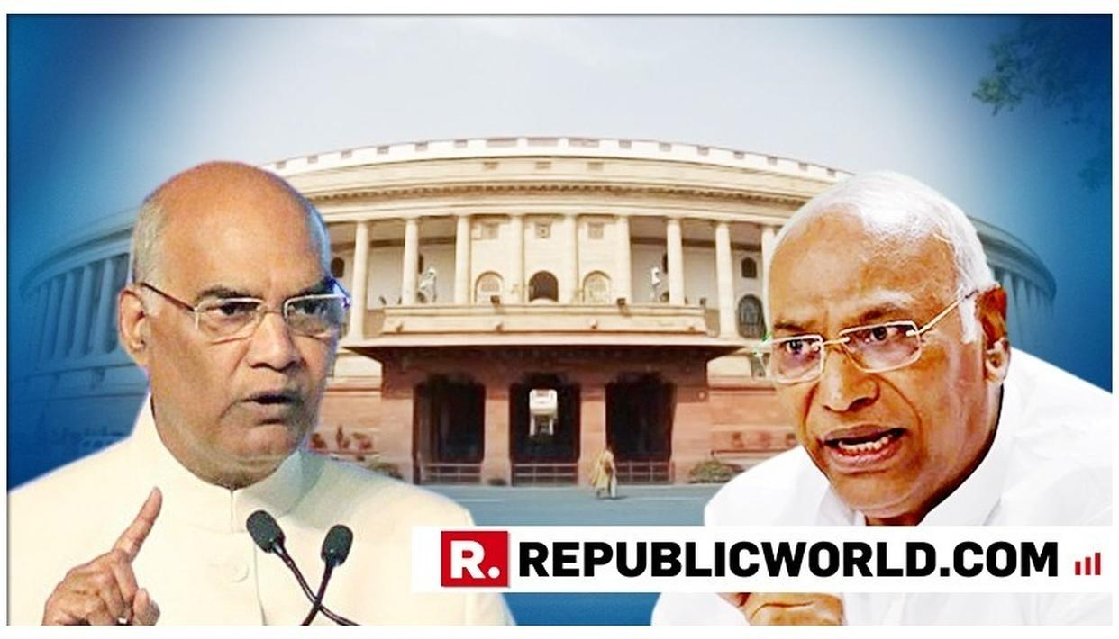 CONGRESS TARGETS PRESIDENT KOVIND'S BUDGET SESSION ADDRESS IN PARLIAMENT