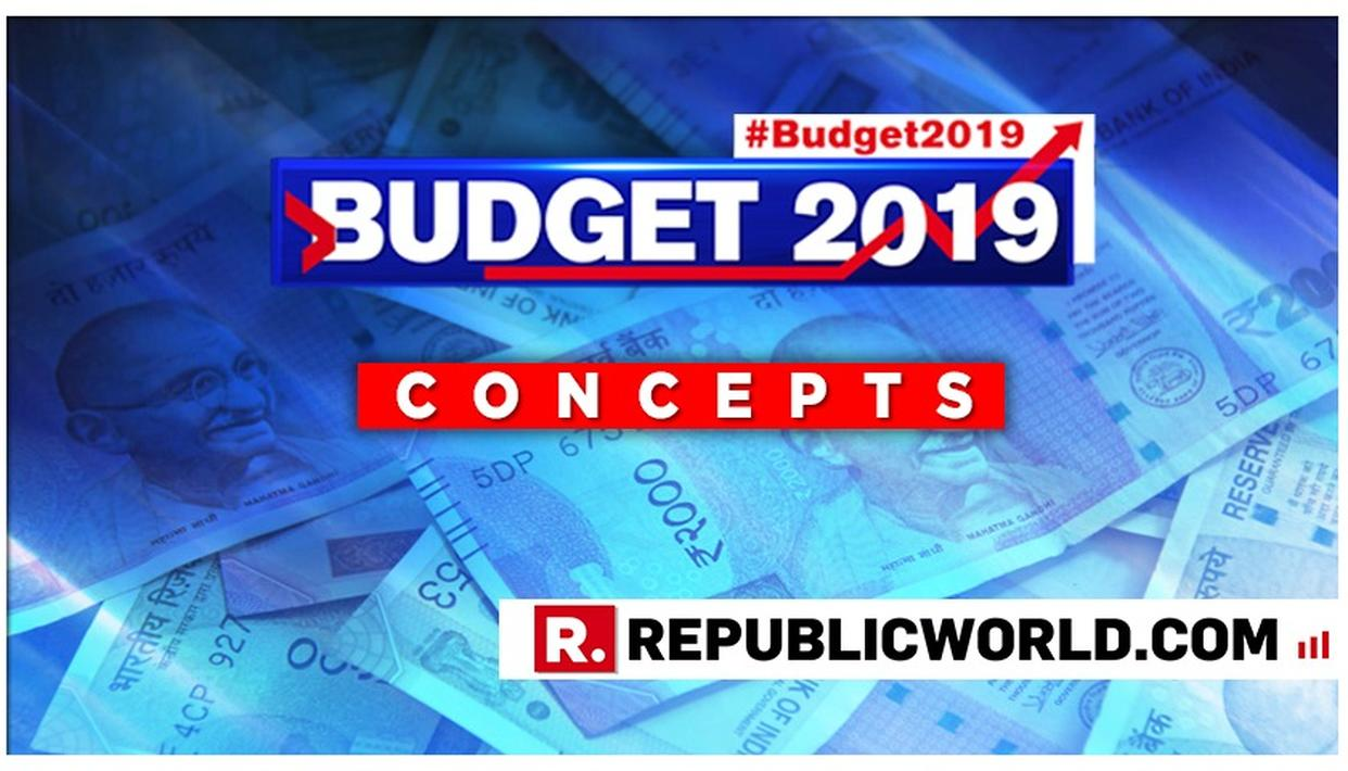 UNION BUDGET 2019: DECODING THE IMPORTANT TERMS TO HELP YOU UNDERSTAND BUDGET