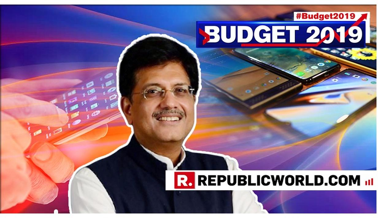 WATCH | 'INDIA IS LEADING THE WORLD IN MOBILE DATA CONSUMPTION': PIYUSH GOYAL HIGHLIGHTS NATION'S DIGITAL PROGRESS IN BUDGET 2019