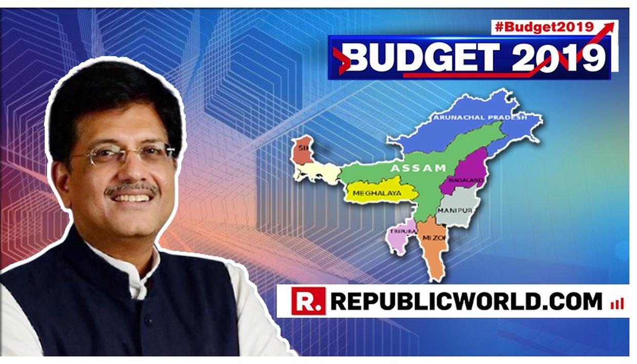 WATCH: PIYUSH GOYAL ANNOUNCES SIGNIFICANT INFRASTRUCTURE BENEFITS FOR THE NORTHEAST, PROPOSES A 21 % INCREASE IN FUNDING IN BUDGET 2019