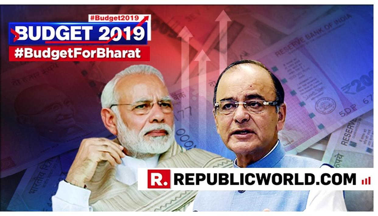 BUDGET 2019 A HIGH-POINT IN MODI GOVERNMENT'S POLICY DIRECTION, SAYS ARUN JAITLEY. READ HIS COMPREHENSIVE ASSESSMENT HERE