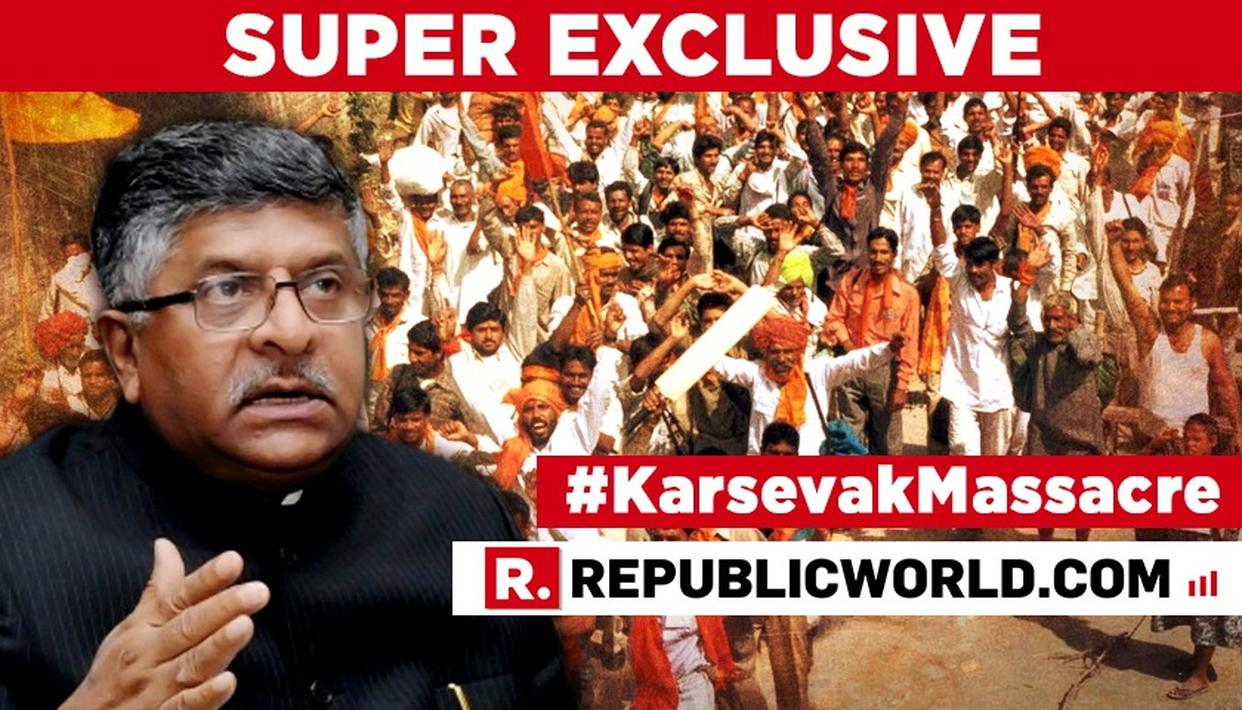 PEOPLE TALK ABOUT HUMAN RIGHTS OF KHALISTANI TERRORISTS BUT NOT KARSEVAKS: UNION MINISTER RAVI SHANKAR PRASAD