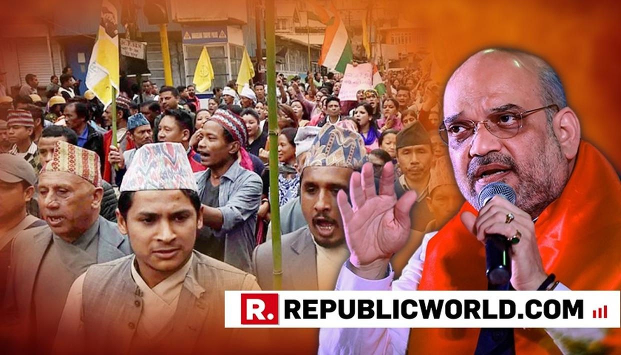 WATCH: 'WILL LISTEN TO ALL PARTIES ON CITIZENSHIP AMENDMENT BILL BUT IT'S A NECESSITY' SAYS AMIT SHAH OVER PROTESTS IN NORTHEAST
