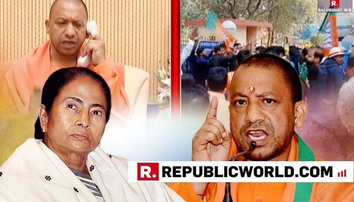 YOGI ADITYANATH CALLS MAMATA GOVERNMENT 'ANTI-PEOPLE AND ANTI-DEMOCRATIC' AFTER TMC DENIES UP CM'S CHOPPER TO LAND IN STATE