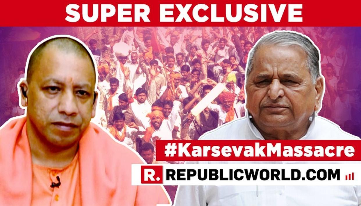 SUPER EXCLUSIVE | WATCH: U.P CM YOGI ADITYANATH SPEAKS ON REPUBLIC BHARAT'S EXPLOSIVE #KARSEVAKMASSACRE NEWSBREAK