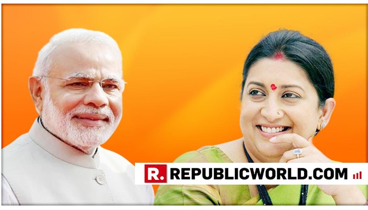 THE DAY PM MODI DECIDES TO HANG HIS BOOTS, I WILL QUIT POLITICS', SAYS UNION MINISTER SMRITI IRANI